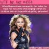 beyonce can run a mile while singing wtf fun