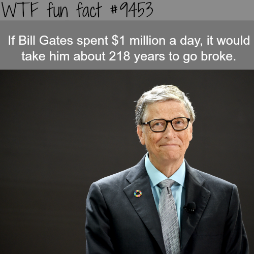 Bill Gates - WTF fun fact