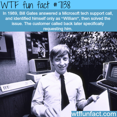 Bill Gates - WTF fun facts