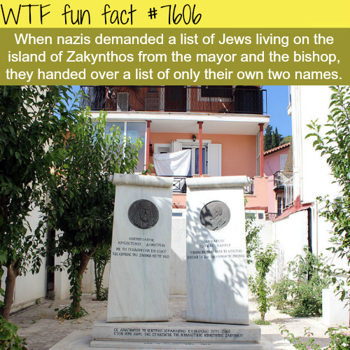 Bishop and Mayor refuse to give nazis the list of Jews - WTF fun facts