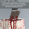 blood and eggs wtf fun facts