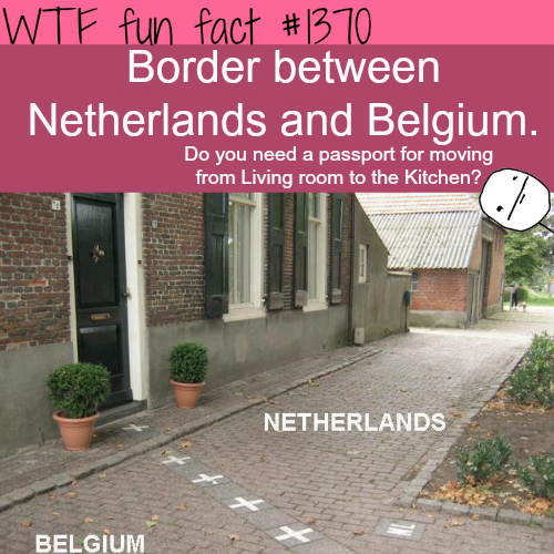 Border between Netherlands and Belgium.