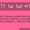 bosnian couple caught cheating on each other
