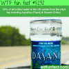 bottled water wtf fun facts