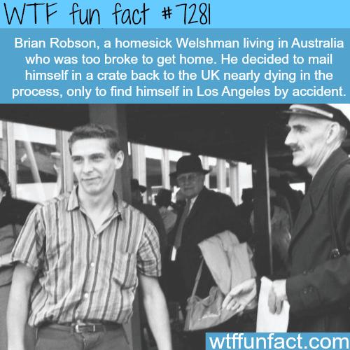 Brian Robson - WTF fun fact