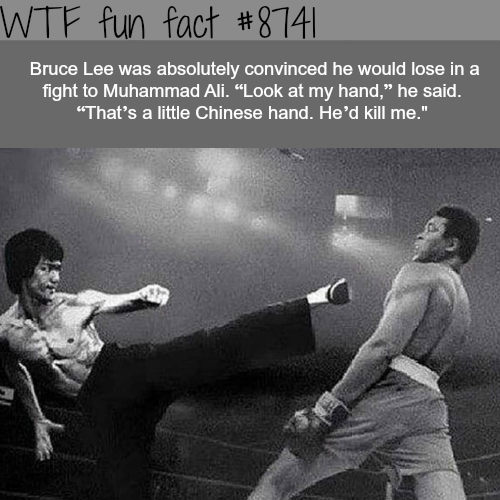 Bruce Lee vs Muhammad Ali - WTF fun facts
