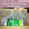 buying bubble wrap from amazon facts