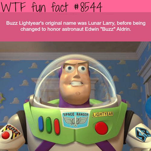 Buzz Lightyear's original name - WTF fun facts