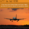 can you cancel your airplane tickets wtf fun