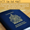 canadians living in the usa with expired visas