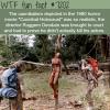 cannibal holocaust wtf fun fact