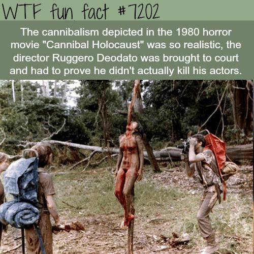 Cannibal Holocaust - WTF Fun Fact