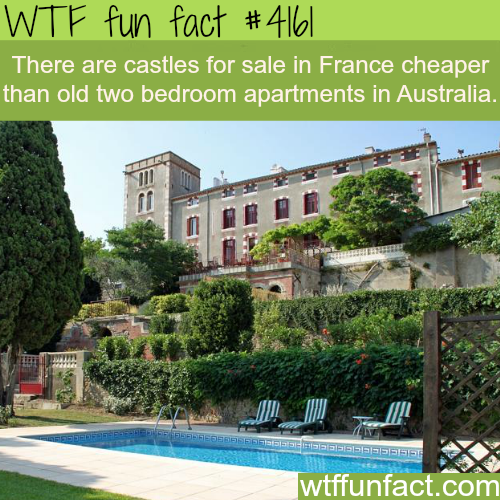 Castles for sale -  WTF fun facts