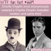 charlie chaplin wtf fun fact