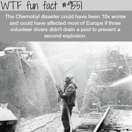 Chernobyl Disaster - WTF fun fact