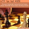 chess facts wtf fun facts