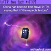 china bans time travel on tv wtf fun facts