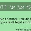 china blocked sites