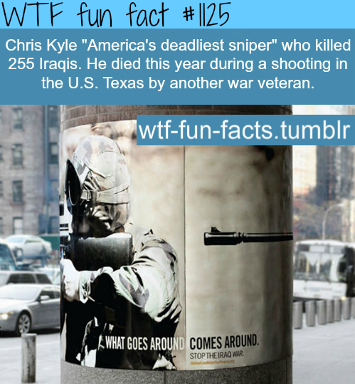 (SOURCE) - Chris Kyle dead.