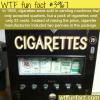 cigarettes vending machines wtf fun facts