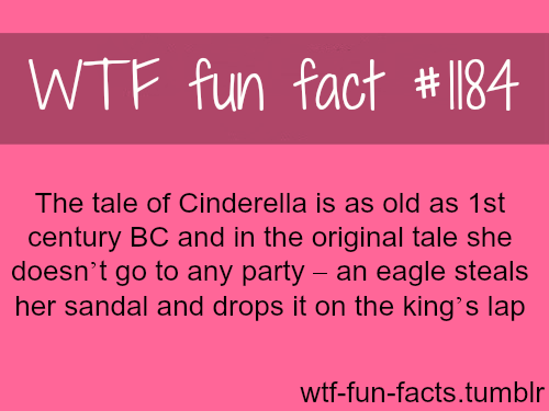 (SOURCE)  Cinderella original story