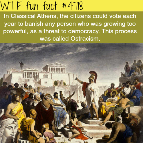 Classical Athens - WTF fun facts