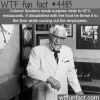 colonel sanders facts wtf fun facts