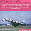 concorde airplane wtf fun facts