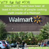 cooking meth inside of a walmart wtf fun facts