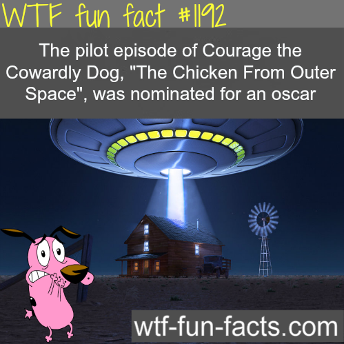 Courage the Cowardly Dog - The Chicken From Outer space