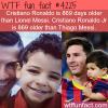 cristiano ronaldo vs lionel messi wtf fun facts