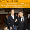 cristiano ronaldo wtf fun facts