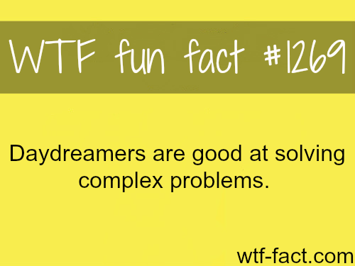 daydreamers and solving problems: