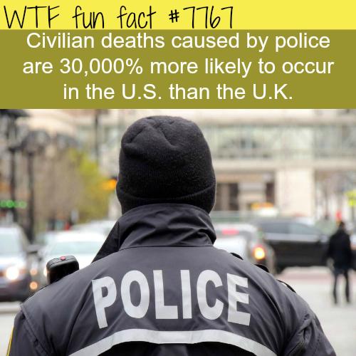 Death by police - WTF fun fact