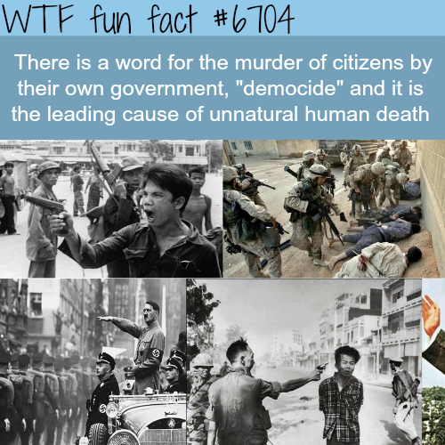 Democide - WTF fun fact