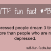 depressed feeling facts