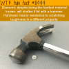 diamond vs hammer wtf fun facts
