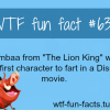 disney movie facts