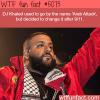 dj khaled facts wtf fun facts