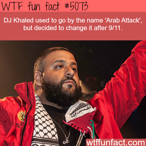 DJ Khaled facts - WTF fun facts