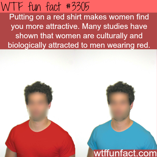 Do girls like men who wear red? -  WTF fun facts