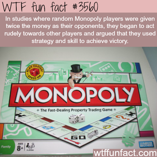 Does money make you rude? - WTF fun facts