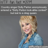 dolly parton loses a dolly parton look alike contest