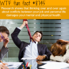 dont mix your job conflicts and your personal