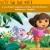 dora the explorer teaches english in
