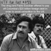 drug lord pablo escobar facts wtf fun facts