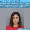 drunk driver kills her friend wtf fun facts