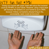 drying your hands with paper towel vs hand dryer