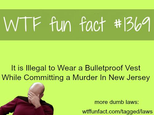 Dumb laws - facts