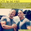 dwayne johnsons stunt double wtf fun facts